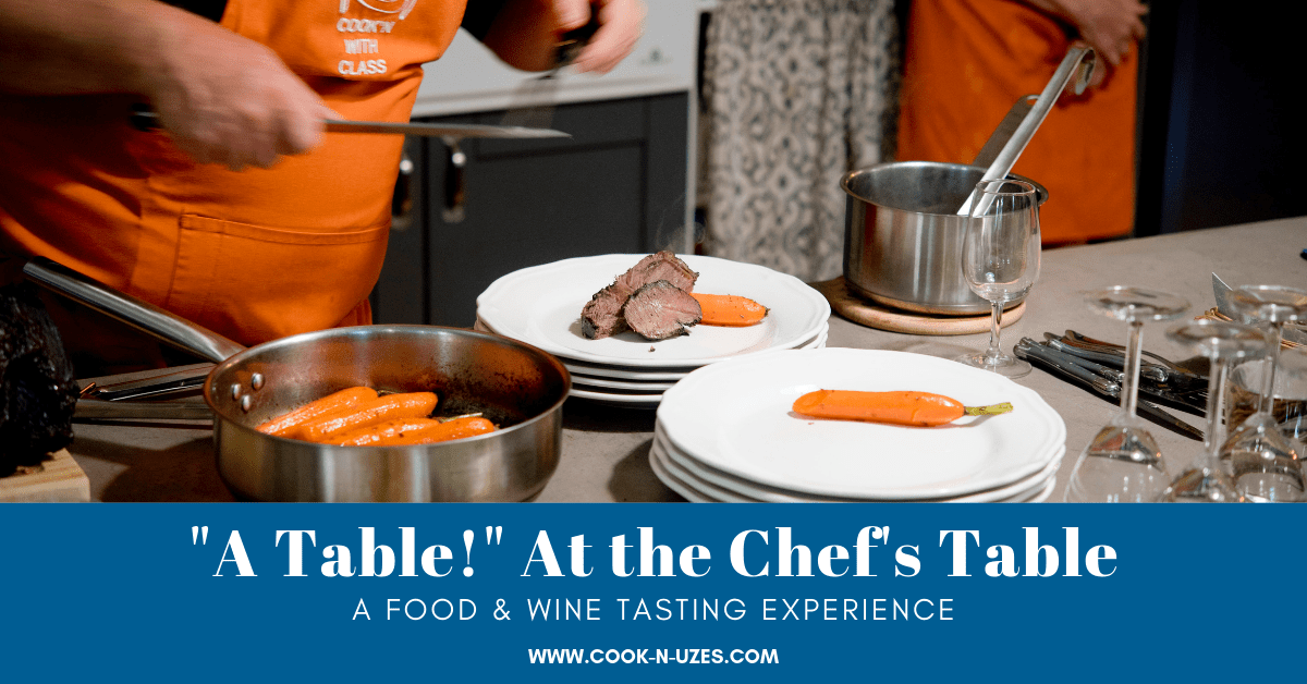 Food and wine tasting class