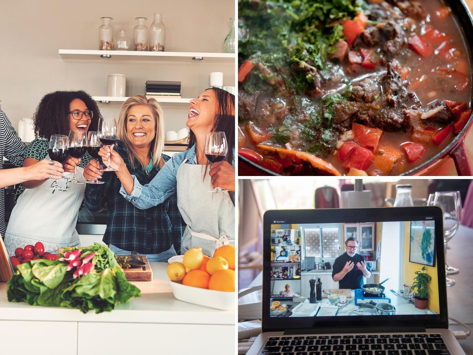 clase virtual de cocina francesa